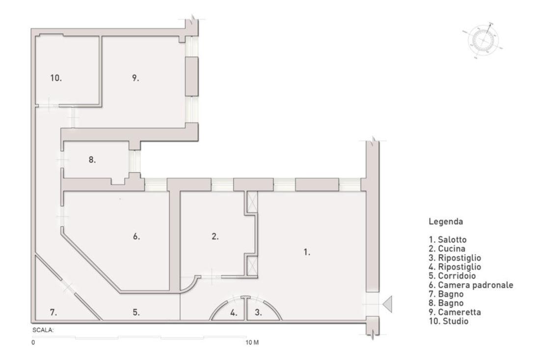Graceful Courtyard House