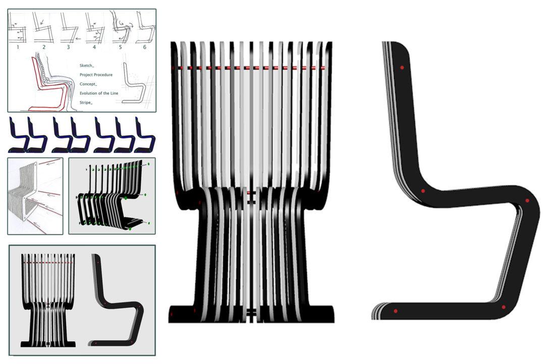 Stripe Chair